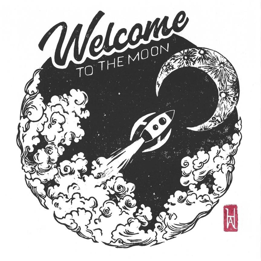 Welcome to the moon : plus près desétoiles